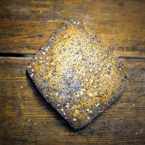 Gebaeck mit Mohn Salz und Sonnenblumenkernen